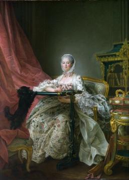 François-Hubert_DROUAIS_1763-4._London_NG._Madame_de_Pompadour_at_her_Tambour_Frame.
