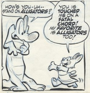 Walt Kelly Albert the Alligator