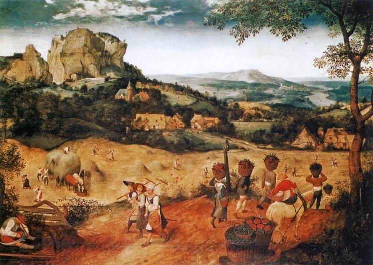 Die_Heuernte Pieter Breugel the Elder